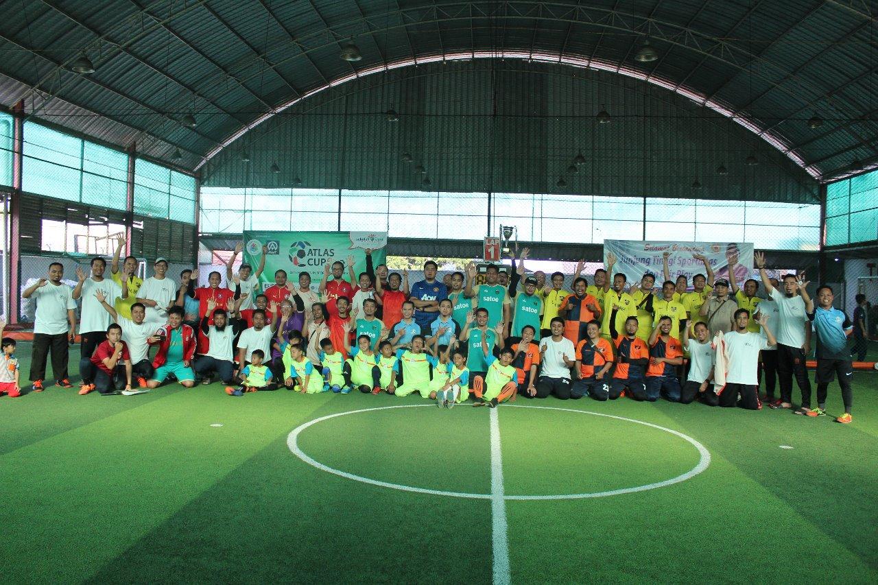 8 Tim ikuti kejuaraan Futsal Atlas Cup 2019
