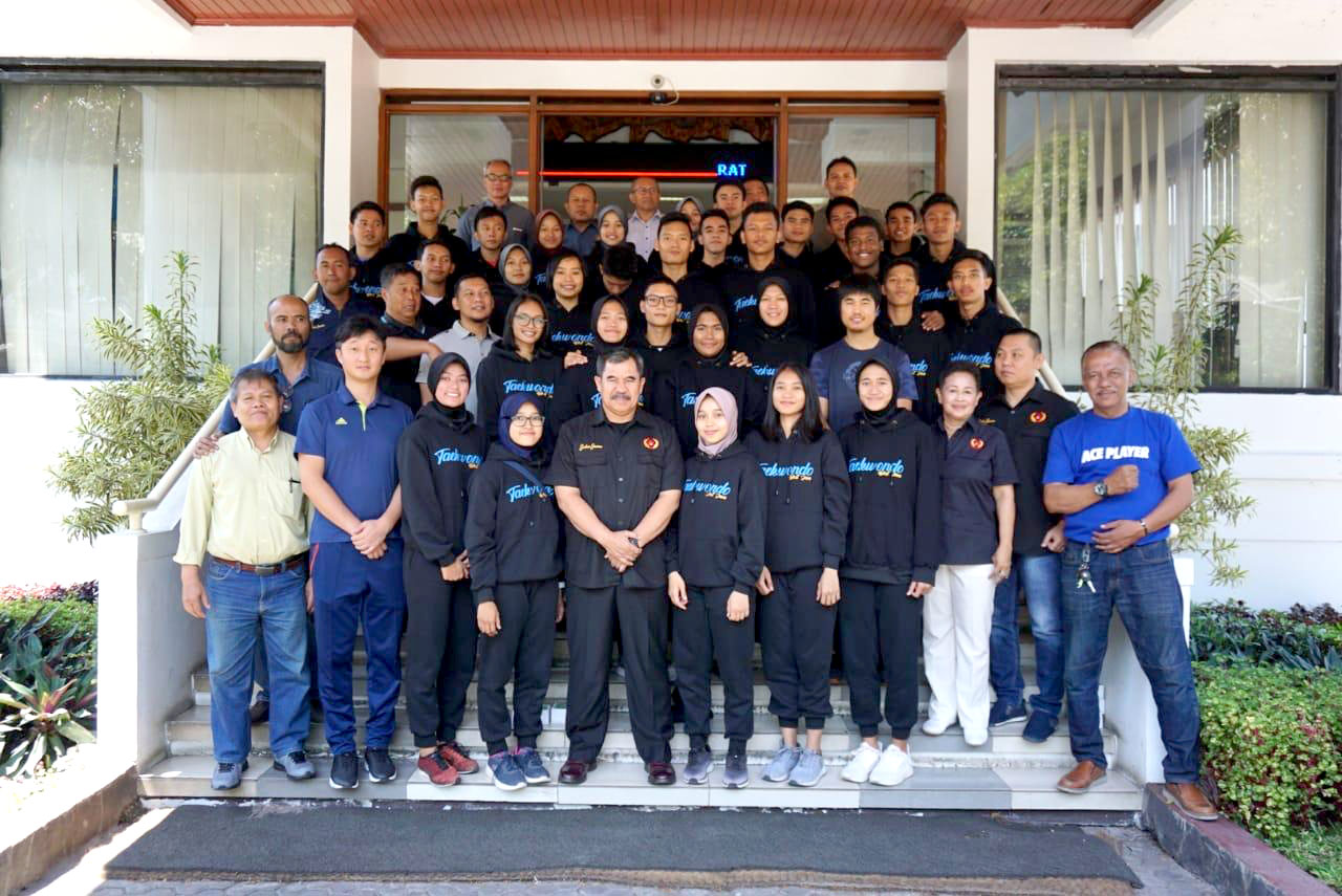 2 Atlet Taekwondo Kota Depok Ikuti Pra PON Papua