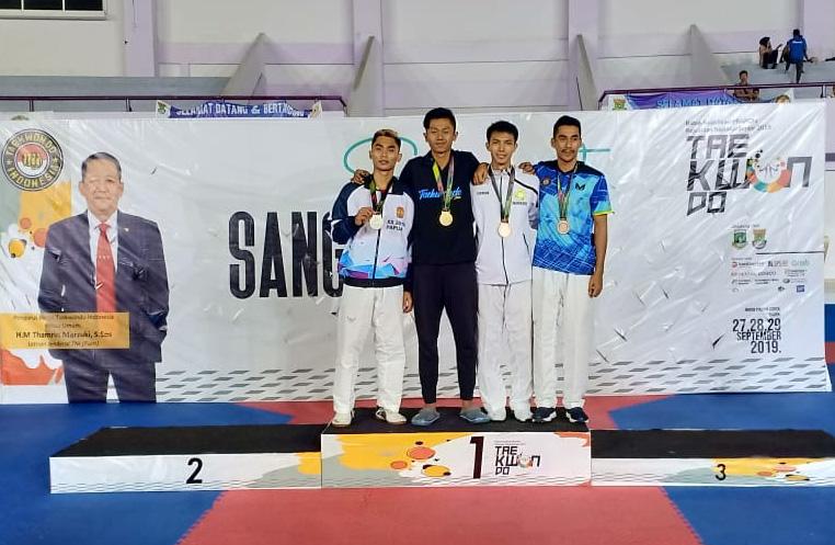 Adam Sempurnakan Tim Taekwondo Jabar Lolos PON 2020