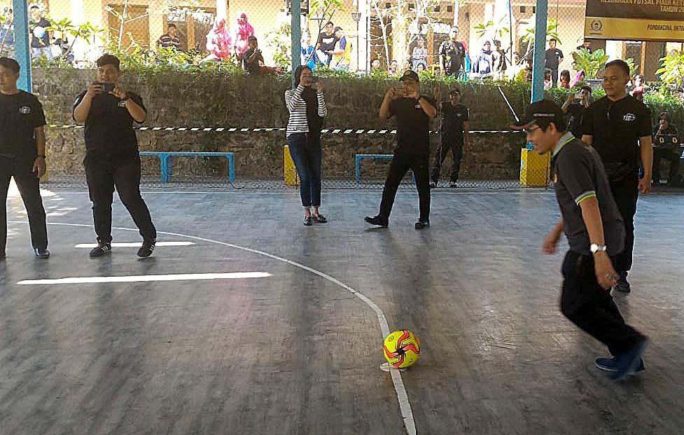 LPM Pondok Cina Gelar Futsal Antar RW