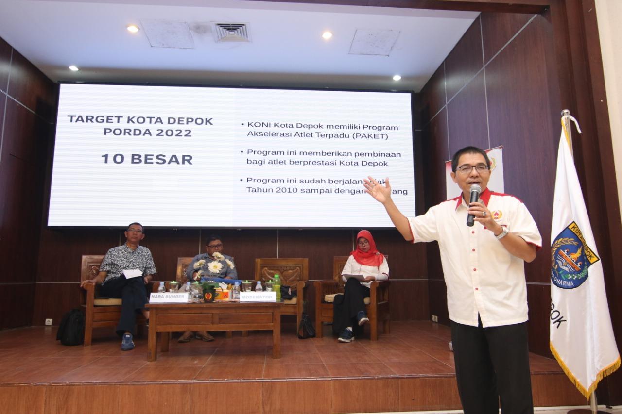DOD Buka Wawasan Pembinaan Olahraga Berkesinambungan