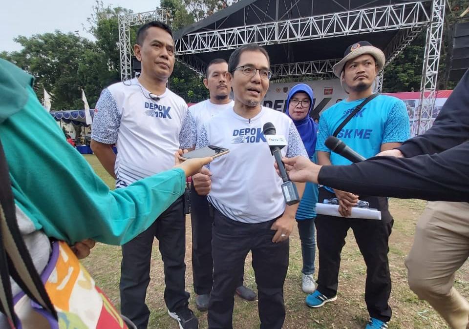KONI Kota Depok Siap Gelar Depok Run 10K Setiap Tahun