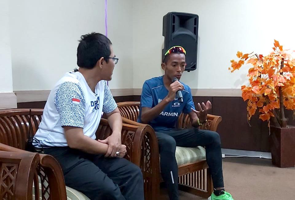 Atlet Nasional Agus Harap Depok 10K Lahirkan Atlet Lari Nasional
